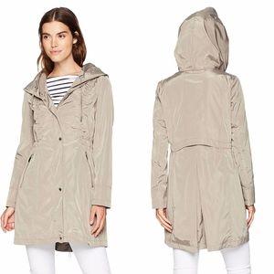 Via Spiga Lightweight Packable Rain Jacket